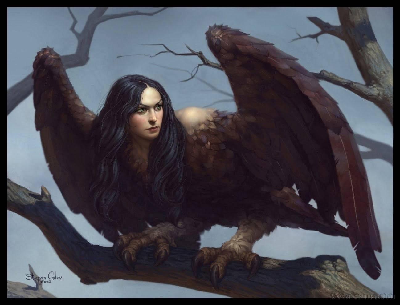 Гарпия (homm iii) | меч и магия вики | fandom