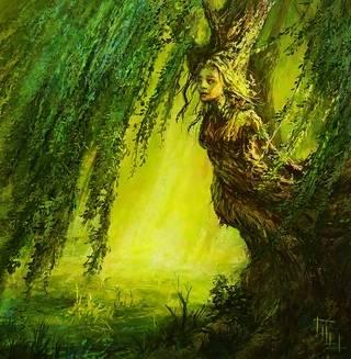 Дамы в зеленом — славянская культура