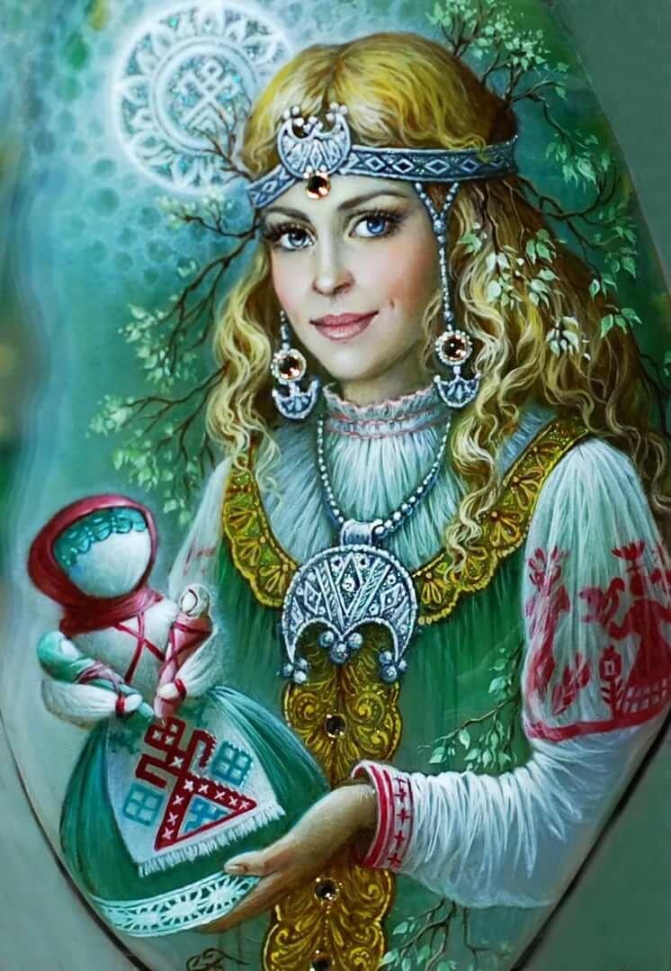 Старая баба — покровительница женщин и детей у славян