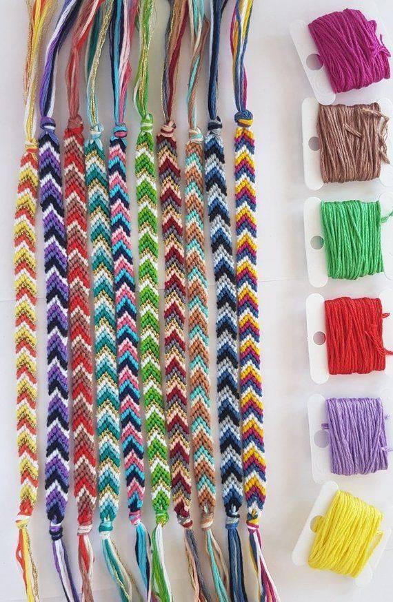 Плетение фенечек из ниток мулине для начинающих