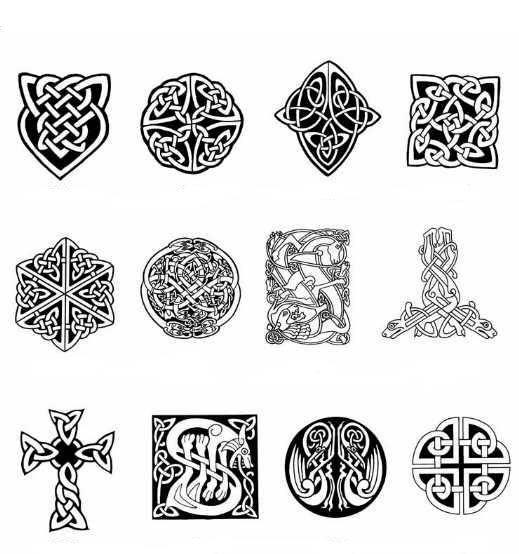 Кельтские тату: значение для мужчин и женщин, фото, эскизы
