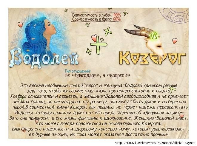 Характеристика знака зодиака водолей — мужчина, женщина, ребенок