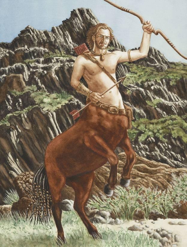 Кентавры — полулюди-полукони из легенд древней греции
