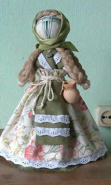 Фитотерапия наших бабушек: кукла кубышка травница