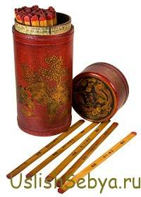 Гадание на бамбуковых палочках