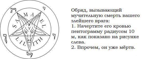 Как вызвать демона: инструкция, заклинание.