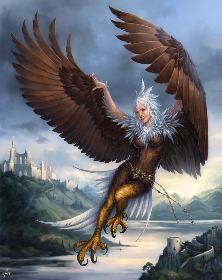 Гарпии | mythological creations | fandom