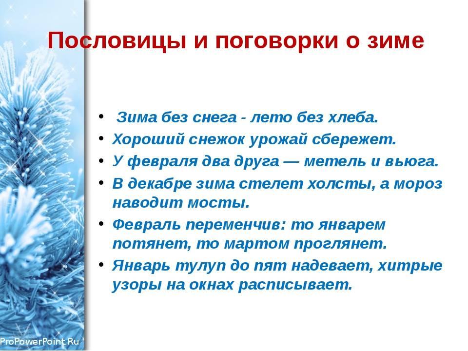 Народные приметы о зиме — что поведает морозная сказка? приметы зимой. русские народные приметы приметы начала зимы