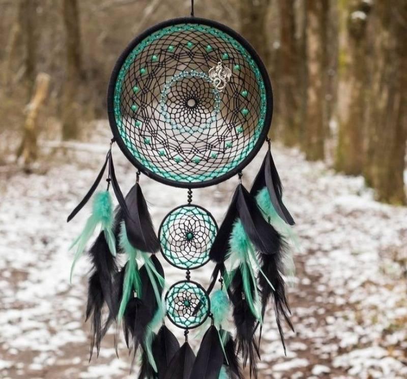 Ловец снов индейцев из чего делали. значение ловца снов — принцип работы индейского оберега (3 фото)
