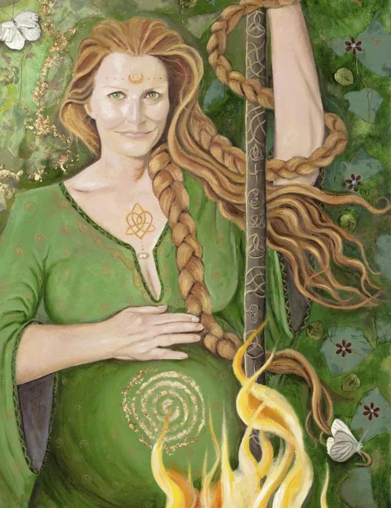 Кэйлик бхир олицетворение зимы в кельтских мифах