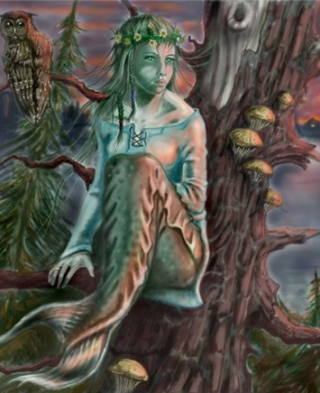 Мавки-навки — злые духи проклятых детей