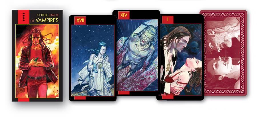 Таро вампиров готическое: фантасмагория, галерея, предназначение колоды