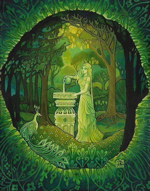 Растительные мотивы в мифологии кельтов. мифы кельтских народов