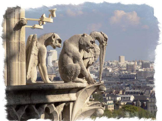 Горгулья и химера — мифология и различия