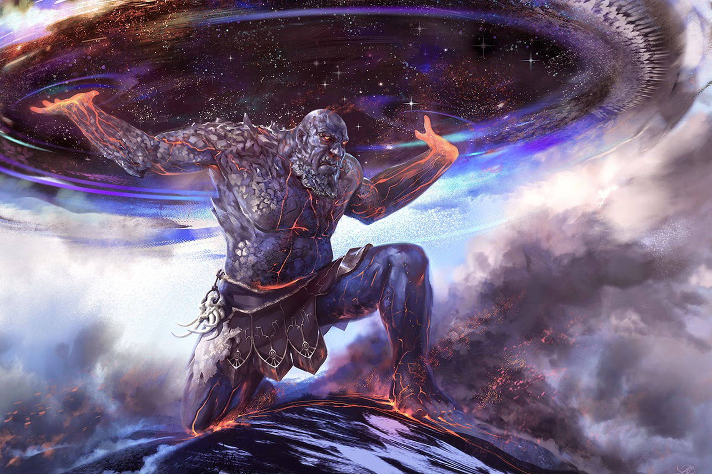 Абраксас — гностический страж, хранитель вселенной