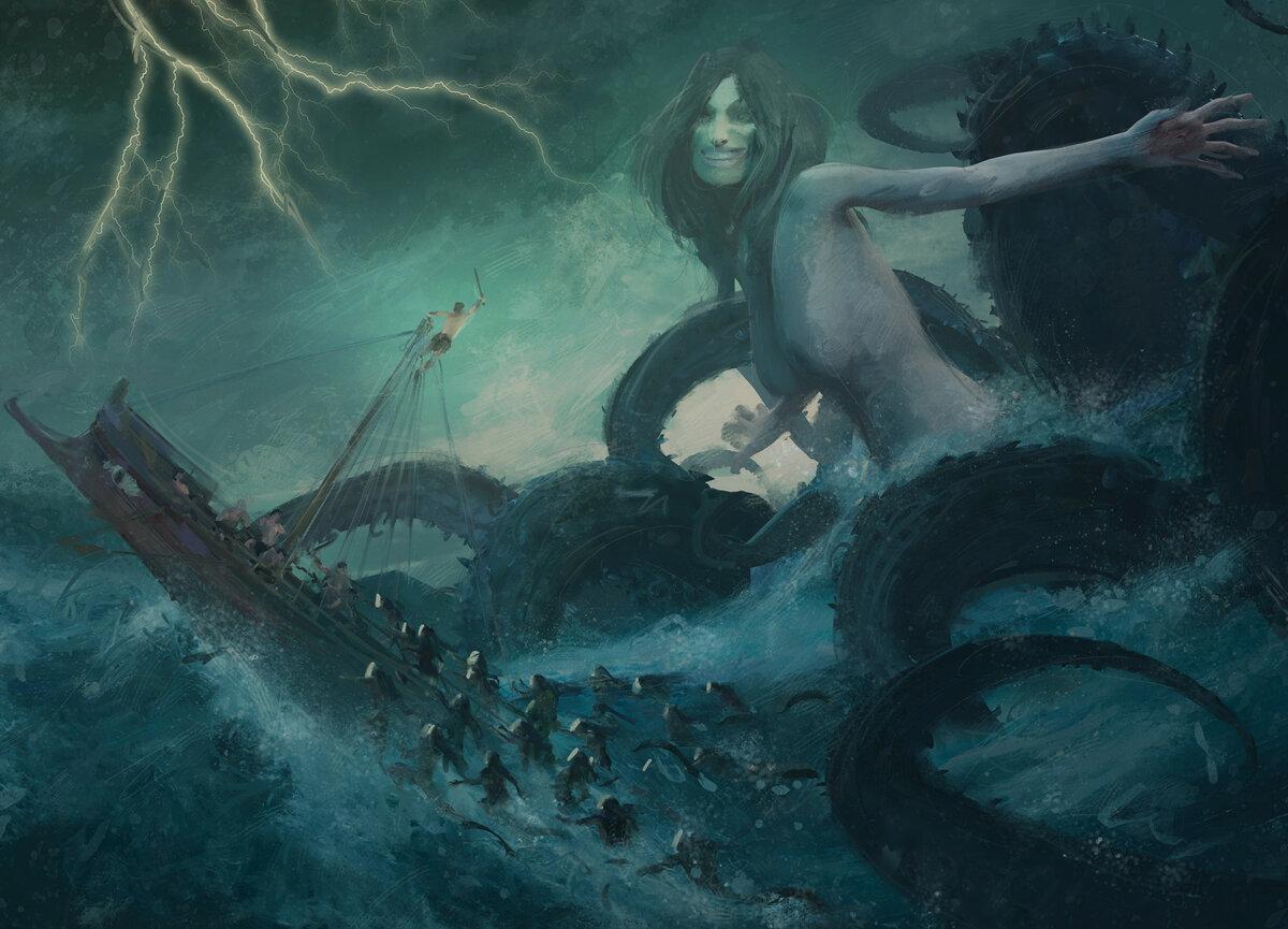 Список мифических существ в древнегреческой мифологии