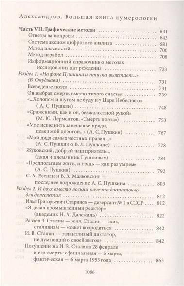 Цифровой анализ личности александрова: нумерология, нумерскоп, психоматрица и квадрат