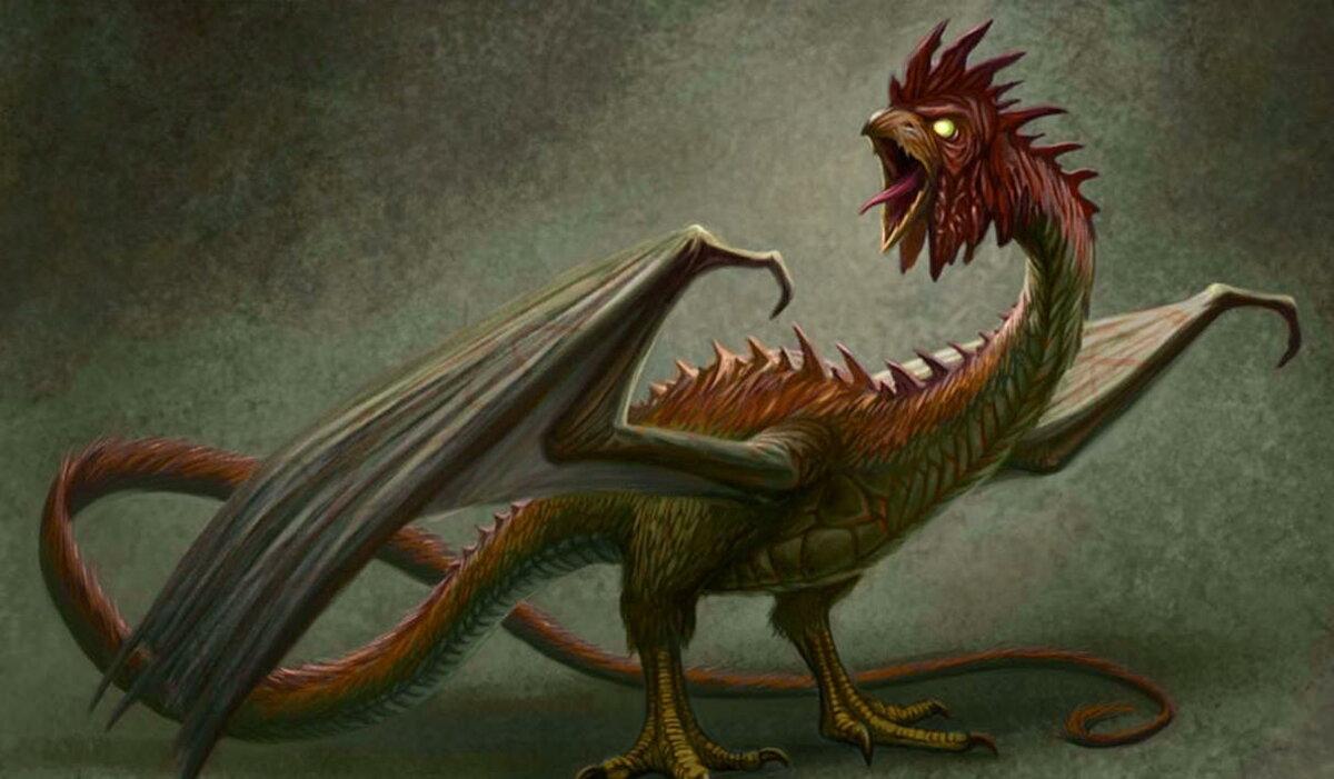 Мифический чудовищный змей василиск, кем он был и его главная способность — нло мир интернет — журнал об нло
