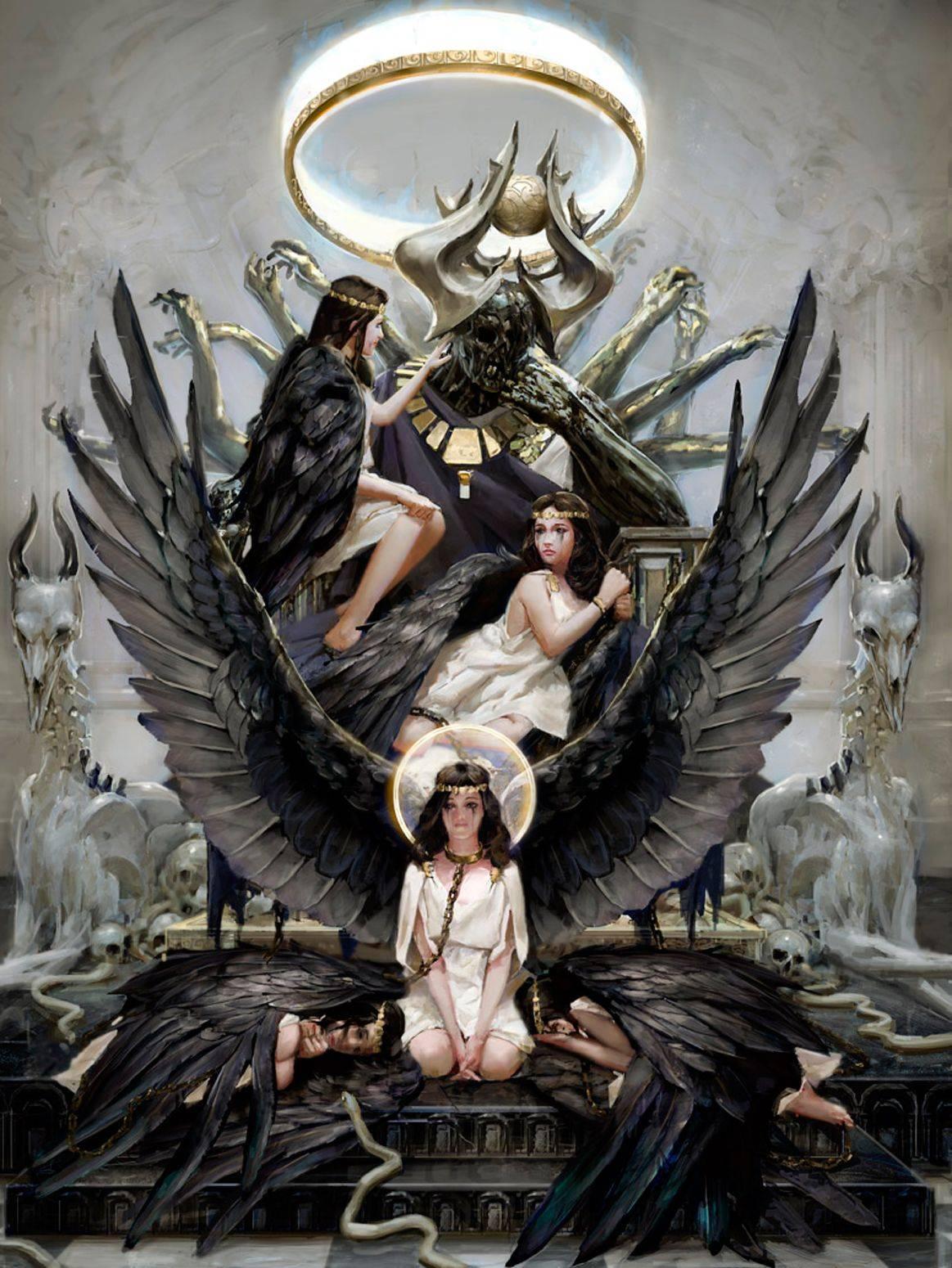 Падшие ангелы в христианстве и как вызвать падшего ангела?