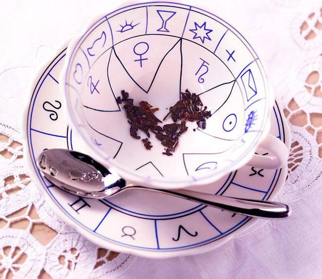 Гадание на чае: значение и толкование символов