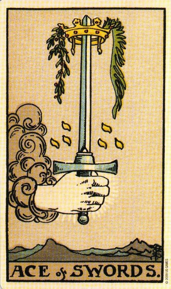 Паж мечей – значение карты таро