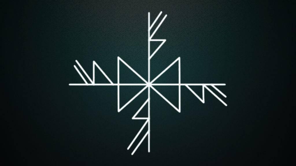 Рунический став «солнышко»: схемы, нанесение, оговор, активация