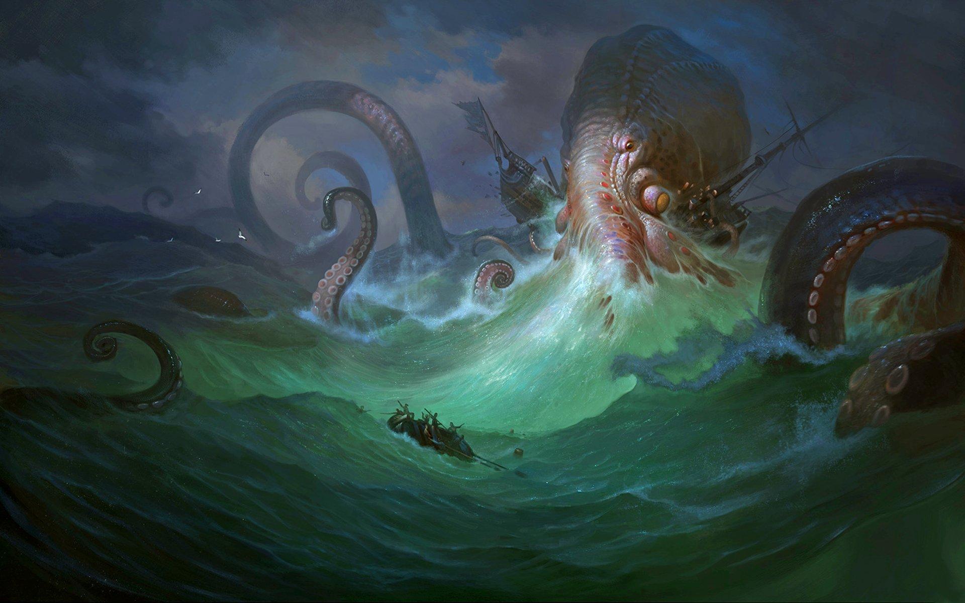 Мифический кракен: легендарный монстр или настоящий моллюск