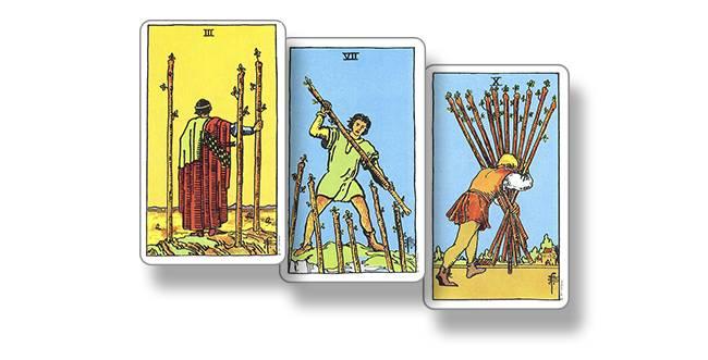 Значение карты таро — король посохов (жезлов)