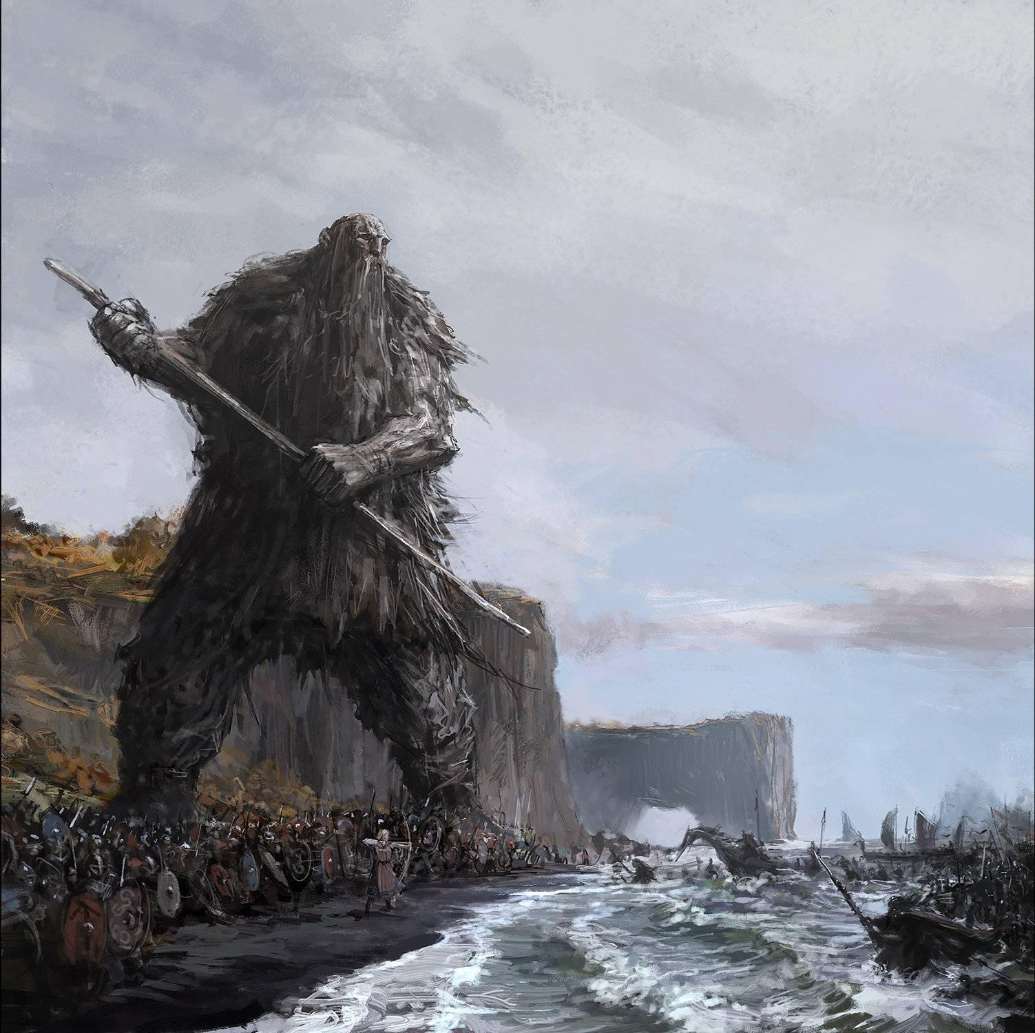 Большой тылль  - великан-земледелец из эстонской мифологии