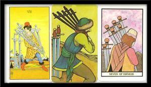 Значение 7 мечей таро в отношениях и любви