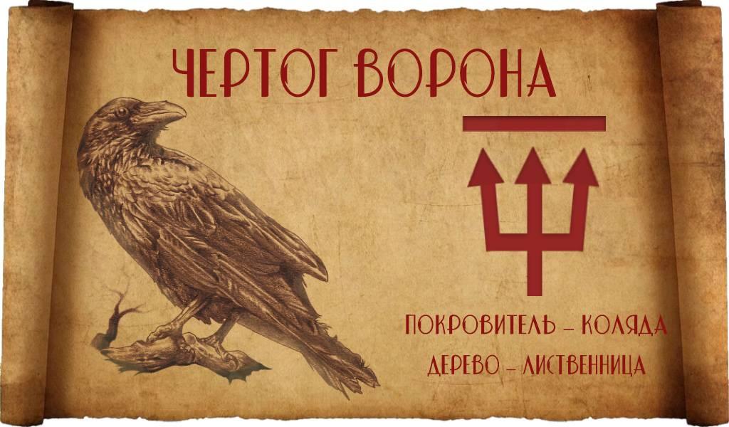 Чертог ворона: значение, описание и оберег