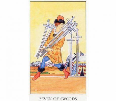 8 мечей – значение карты таро