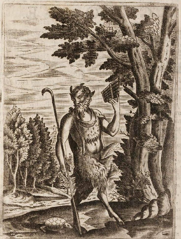 Пан (мифология) - википедия