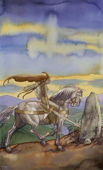 Рыцарь мечей таро 78 дверей: общее значение и описание карты