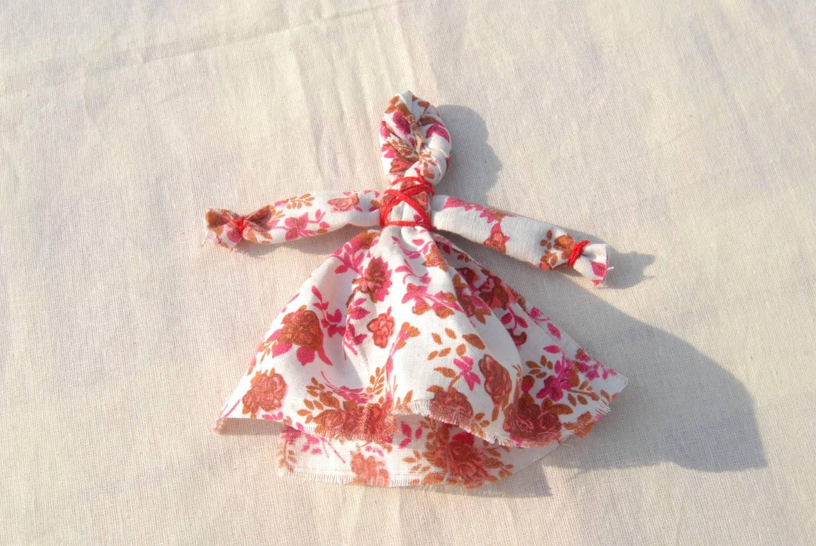 Кукла пеленашка — простой мастер класс