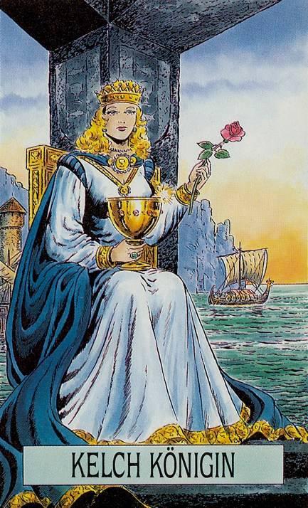 Принцесса чаш таро тота: общее значение и описание карты