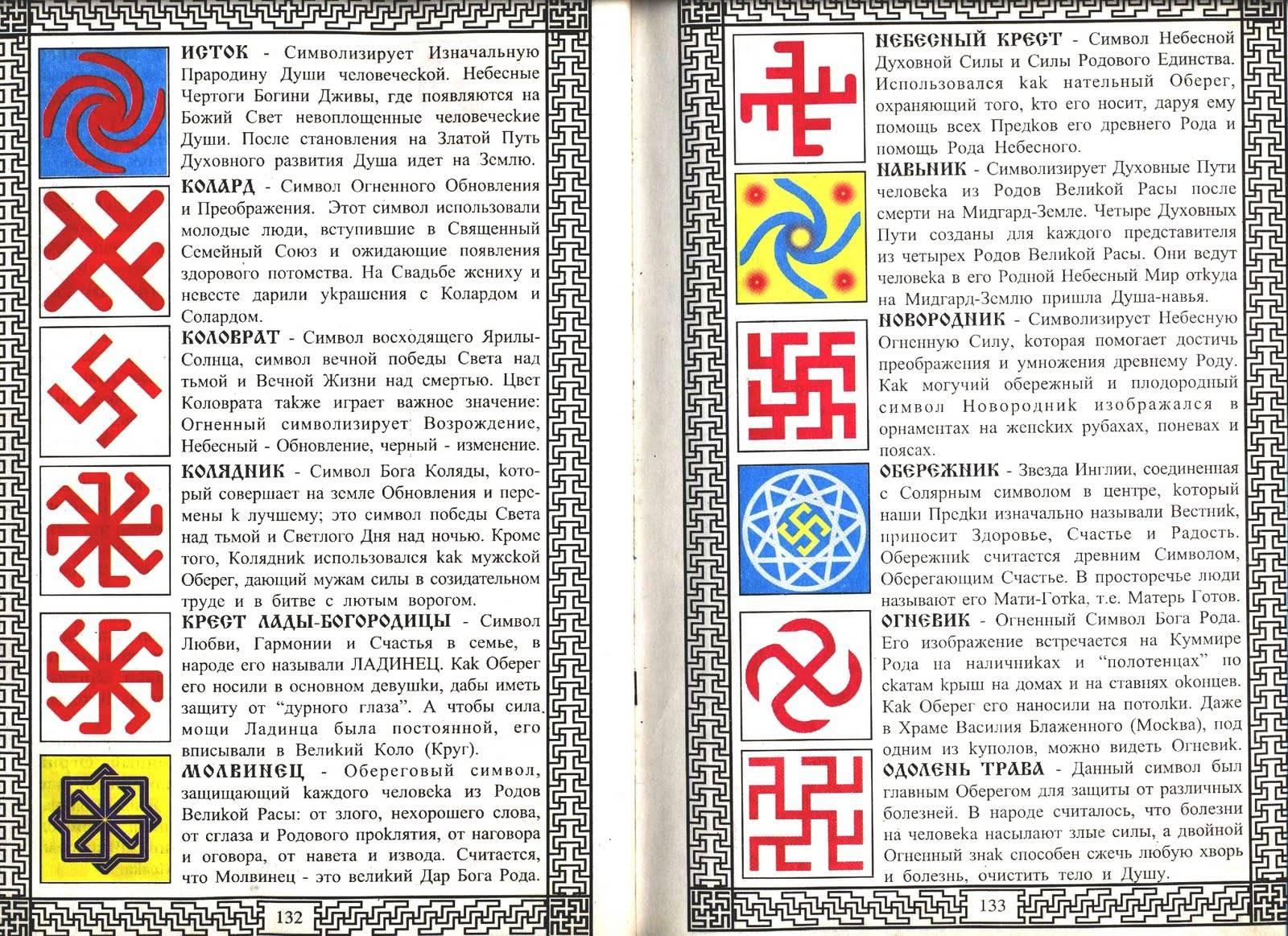 Славянские обереги и амулеты, их значение и толкование