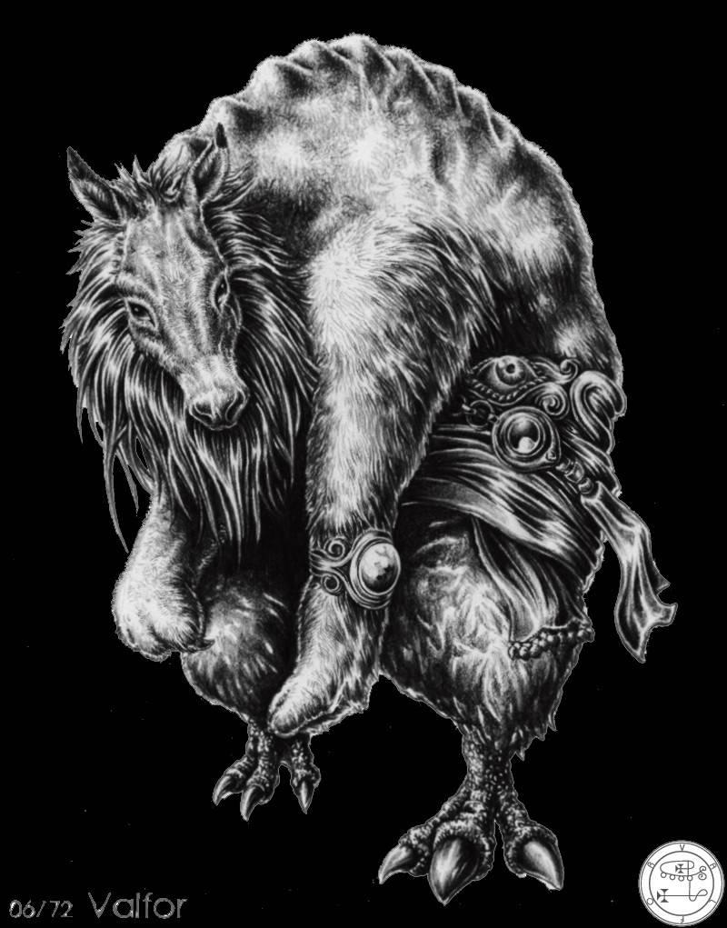 72 демона гоэтии — полный список и описание демонов