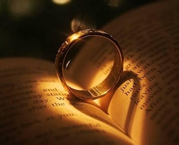 Гадание на обручальном кольце ?: как гадать на будущее и на детей