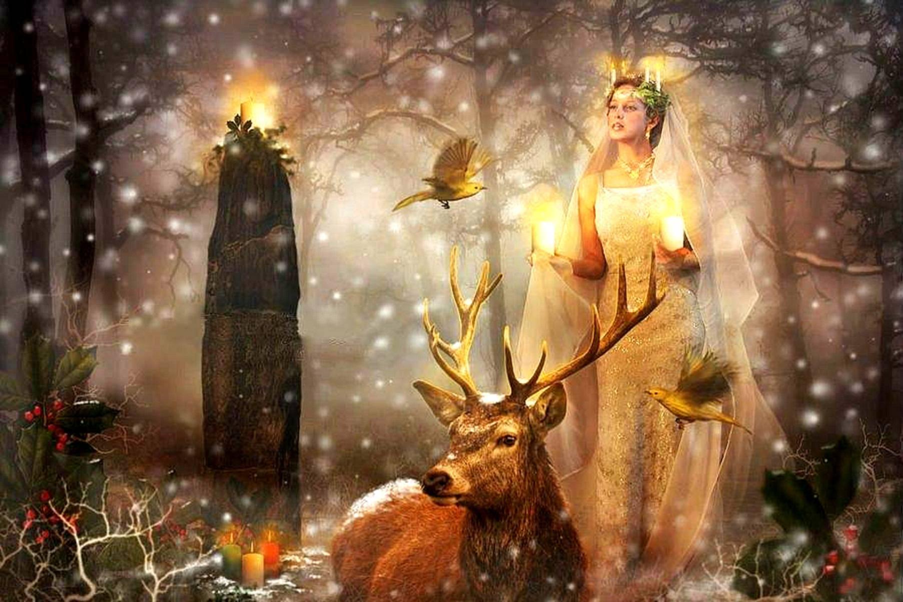 Самайн — праздник конца осени и духов предков