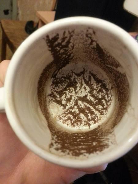 Гадание на кофейной гуще толкование значений символов, цифр, рисунков, фигур