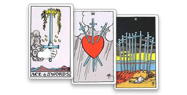 Значение карты таро ― туз мечей