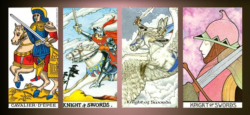 Рыцарь мечей таро: значение в отношениях, любви, здоровье, работе