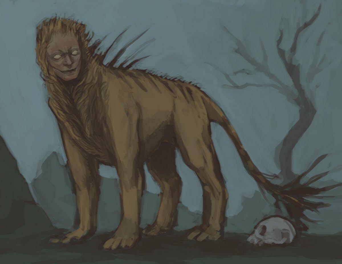 Мантикора (чудовище) — википедия переиздание // wiki 2