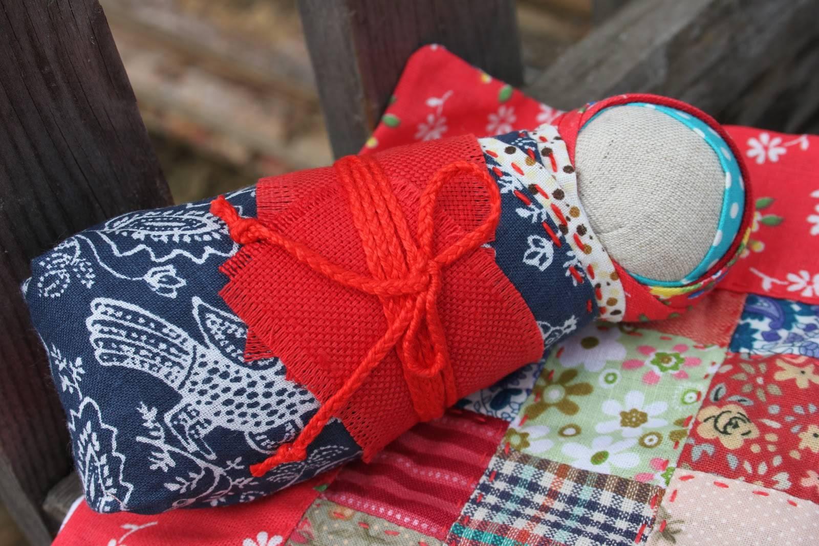 Кукла пеленашка своими руками - пошаговая инструкция, значение оберега