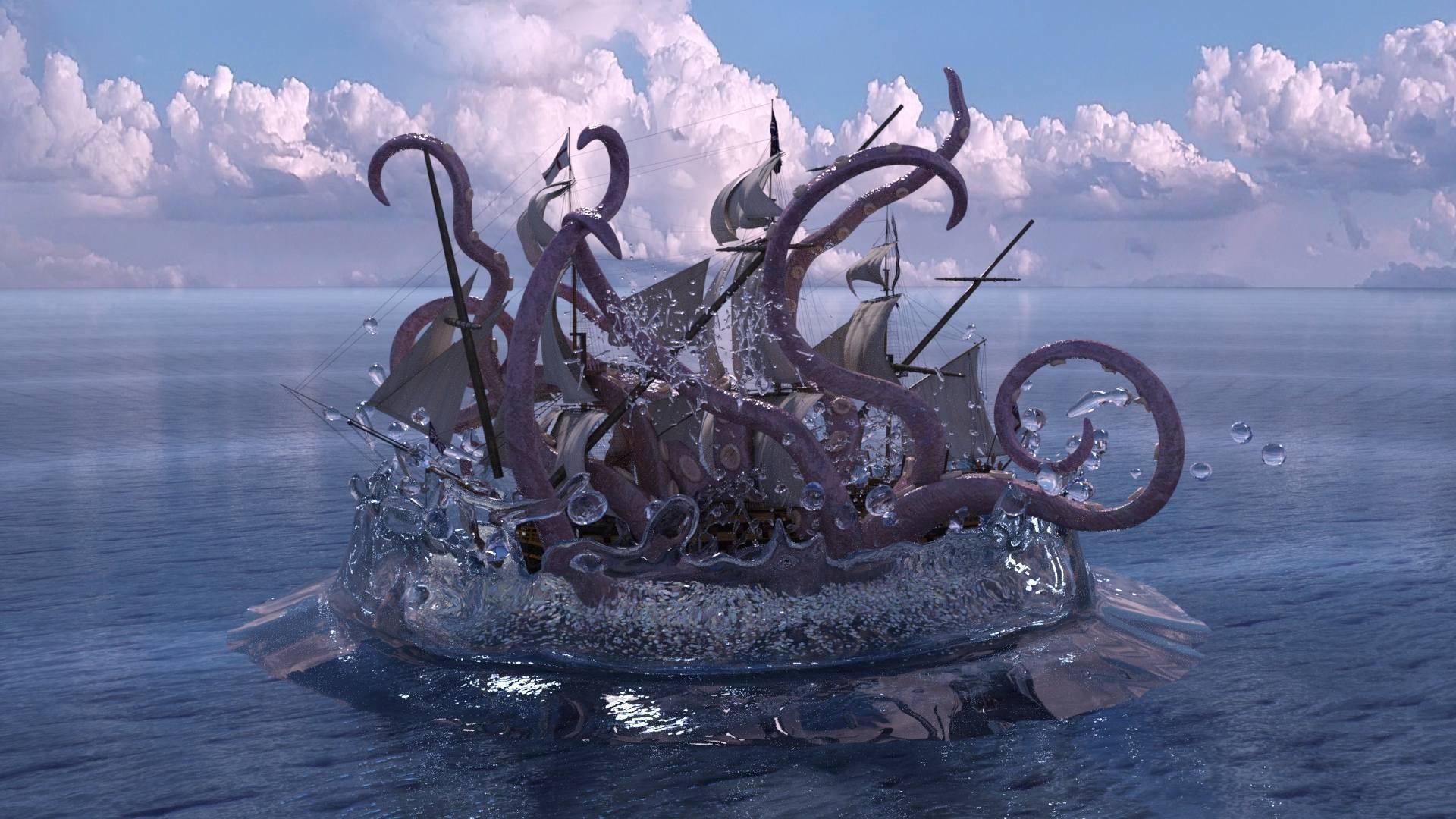 Морские легенды: тайны глубин океана
