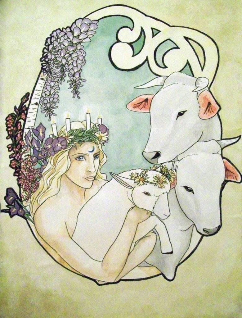Имболк (1-2 февраля) - колесо года - ведьмочка.com