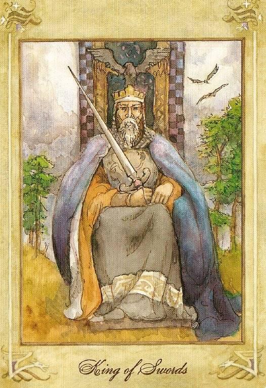 Король Мечей — значение и толкование карты