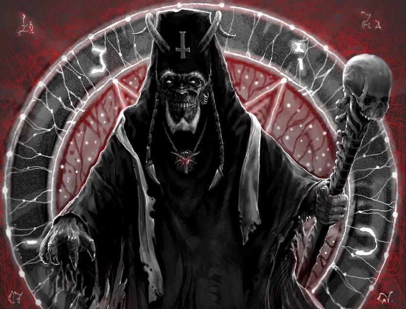 Абара — церковный бес на службе колдунов