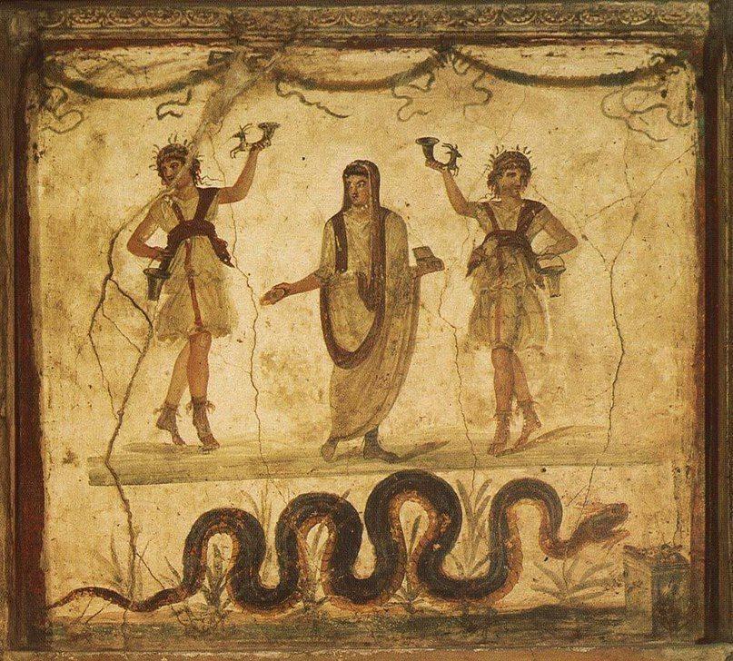 Пенаты и лары — духи-покровители дома